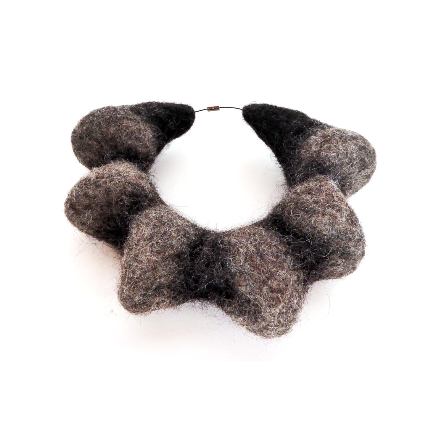 Mandy Nash  Woolly Necklace 2