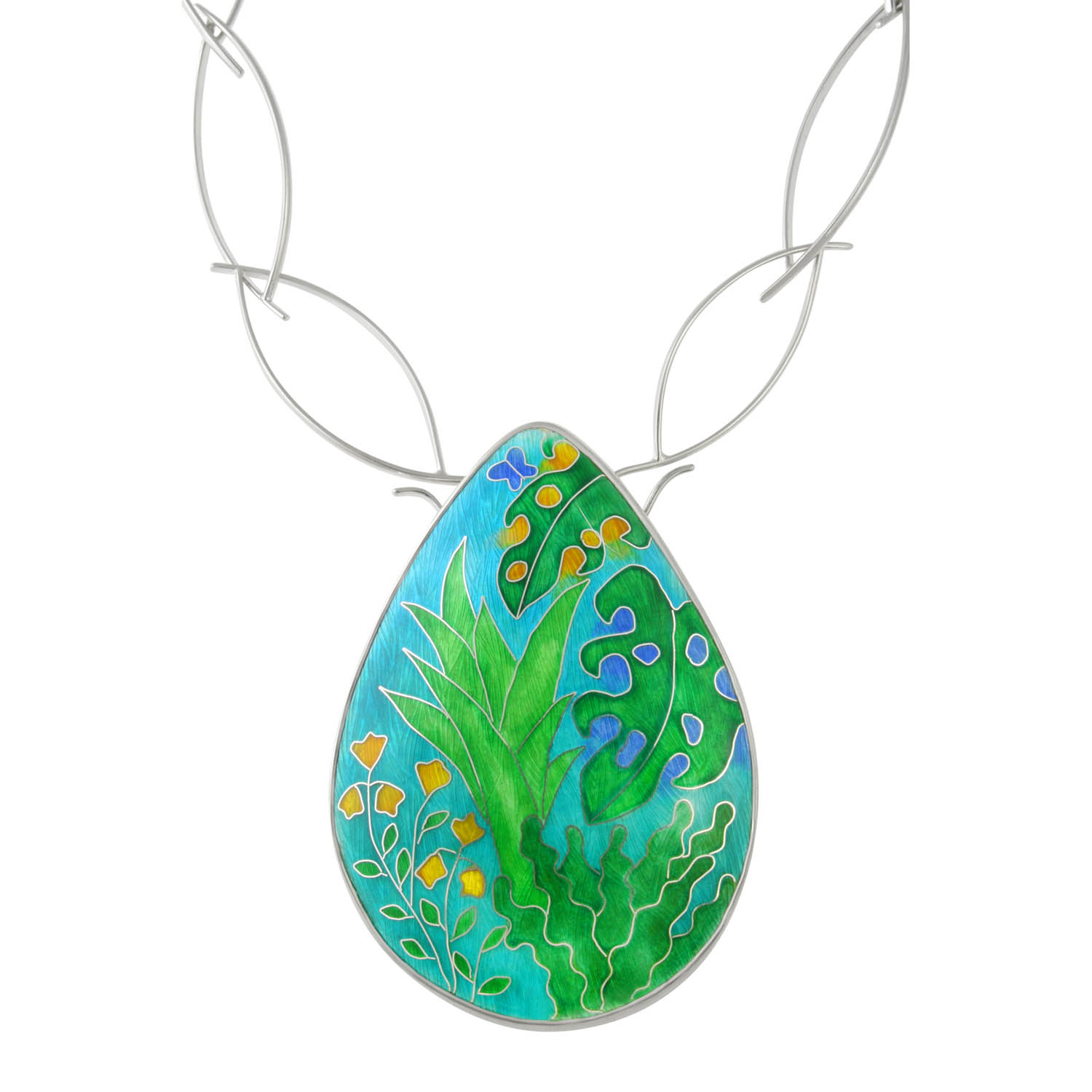 Linda Connelll Botanical Gardens Wisley Necklace